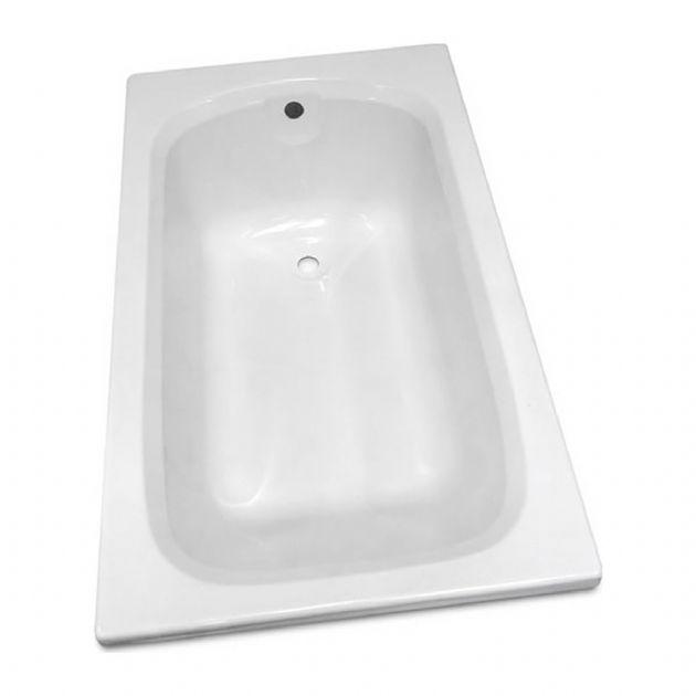 Caravan/Motorhome BATH DERWENT 1200 X 700 WHITE,  Washroom bathrooms for campervan caravan and motorhomes - Grasshopper Leisure